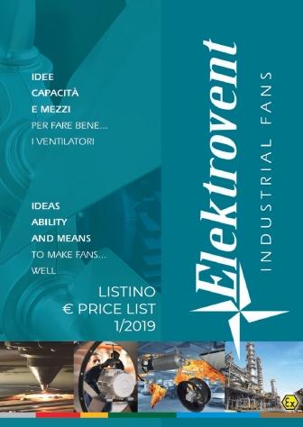 Listino 2019 - Copertina